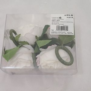 Celebrate It Accents - Flower Napkin Rings
